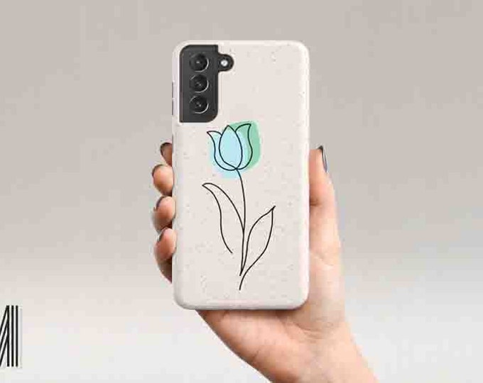 Eco Friendly Galaxy S21 Plus Tulip Phone Case