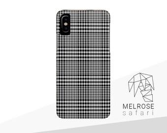 Kleidung & Accessoires Harris Tweed Iphone Case Grey/black Herringbone Pattern New