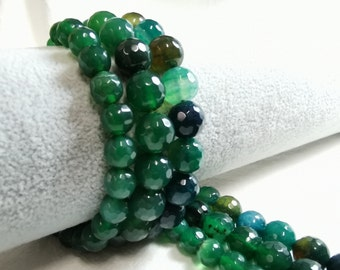 1 strand Beautiful Opal Opalite Mixed Shape Loose Bead 15.5 inch L047