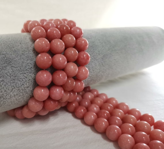 Pcs Gemstones DIY Jewellery Making Malaysian Jade Round Beads 8mm Turquoise 45