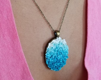 Ocean Blue Ombre Necklace