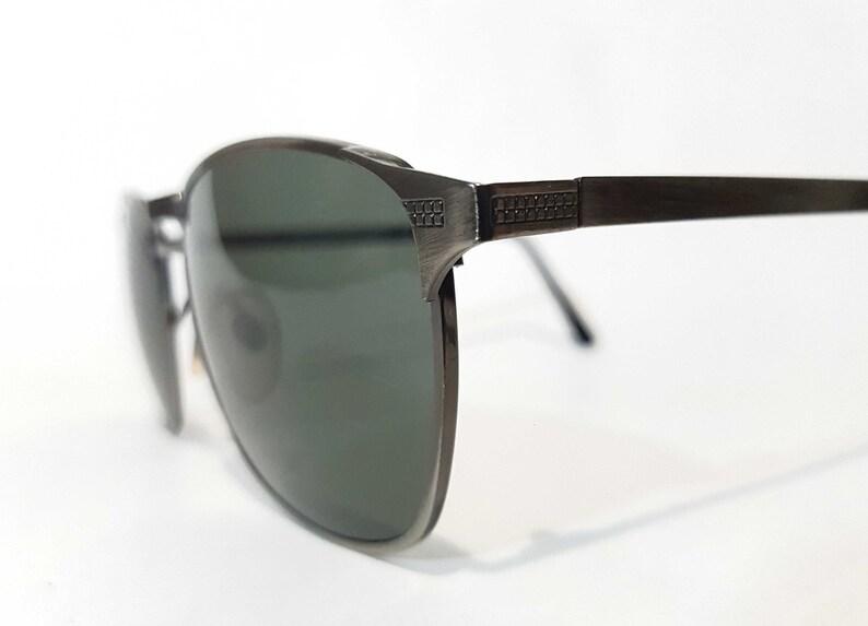 7cc6d869c40 VIntage 80  Sunglasses Double Carved Bridge High Quality