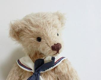 collectible sailor teddy bear 'Luna'