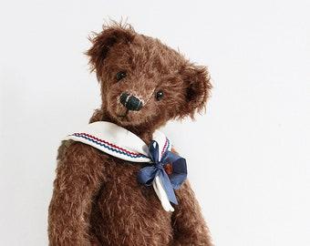 collectible sailor teddy bear 'Oreo'