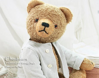 collectible old style teddy bear DAVE