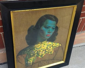The Chinese Girl by Tretchikoff