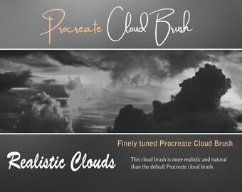 Procreate Cloud Brush