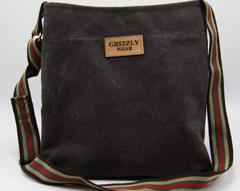 Dark Grey Crossbody Bag