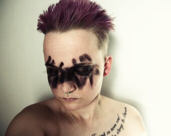 Dancing With My Demons - Fine Art Photography, Portrait, Horror, Portrait Photography, Female Model
