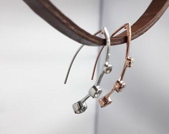 925 ct Sterling Handmade Silver Earring