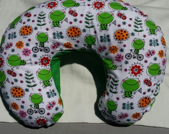Happy Frog Nursing Pillow Cover