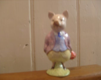 Beswick Beatrix Potter Pigling Bland Made In England