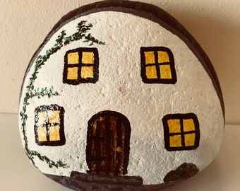 Hand painted fairy house