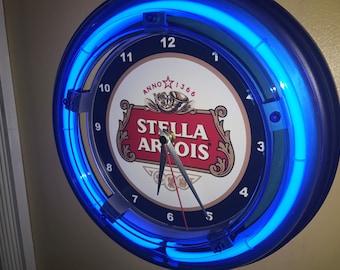 Stella Artois Neon Etsy