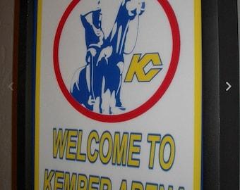 5297f5617 KC Kansas City Scouts Hockey Stadium Gameroom Bar Man Cave Lighted Sign