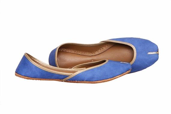 Handmade Yellow Women Flat Shoes Ballet Flats Black shoes Juti Ethnic Shoes Bridal Shoes Mojari Indian Juttis