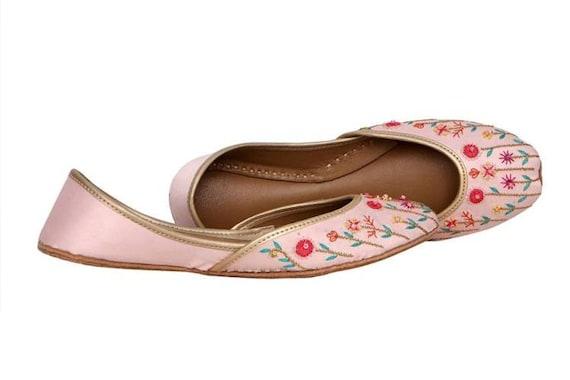 Beige Beige Flat Embellished Mojari Colour Beige Beige Flat Khussa Shoes Mutli Ballet Jutis wZqwCr0