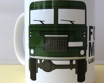 Forward, March! Land Rover Forward Control 101 - 11oz Ceramic Mug - Gift for Her - Gift for Him - Classic Car Lover - Housewarming