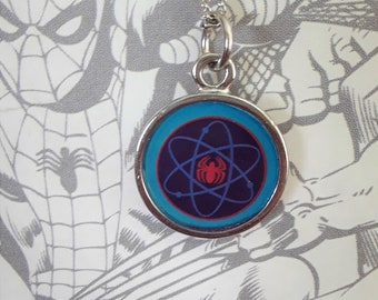 Small Spiderman necklace