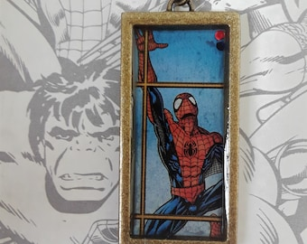 Large Spiderman keychain