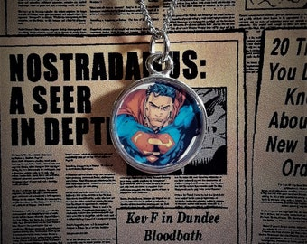 16mm Superman necklace