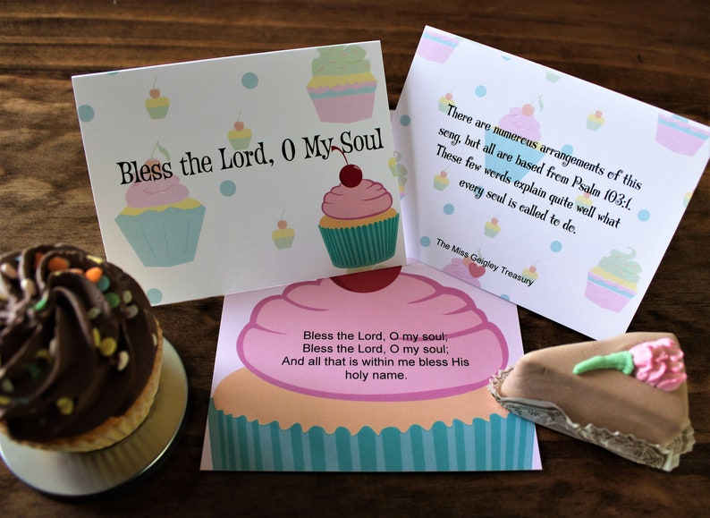 Bless the Lord, Oh My Soul Greeting Card