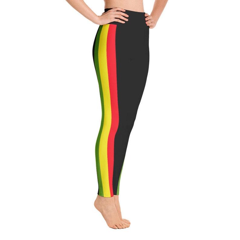 9fa43fd251 Rasta Leggings Rasta colors leggings womens clothing Rasta | Etsy