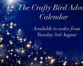 The Crafty Bird 2021 Advent Calendar - PRE-ORDER - Ships in November. Limited Edition