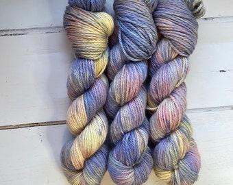 NEW Schuyler Sisters Luxury Alpaca and Silk Aran Hand Dyed Yarn