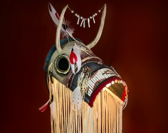 Horse Mask Table Lamp