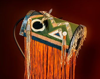 Horse Mask Floor Lamp