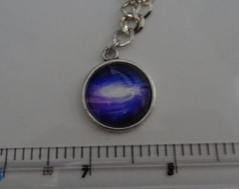 Assorted Universe Picture Bracelets With Glass Cabochon Cover