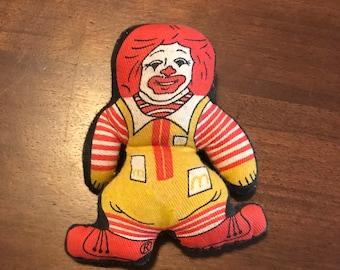 Ronald McDonald toy