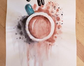 Coffee Watercolor