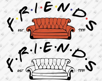 Friends Couch Etsy