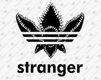 1bb28158 Stranger Things Demogorgon SVG, Stranger Things Adidas Logo Parody, Stranger  Things Svg, Dxf, Eps, Png, Pdf, Cut File, Vinyl Decal, Design