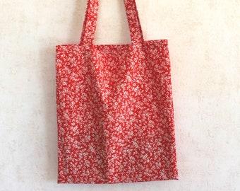 Tote Bag floral print - Cotton bag