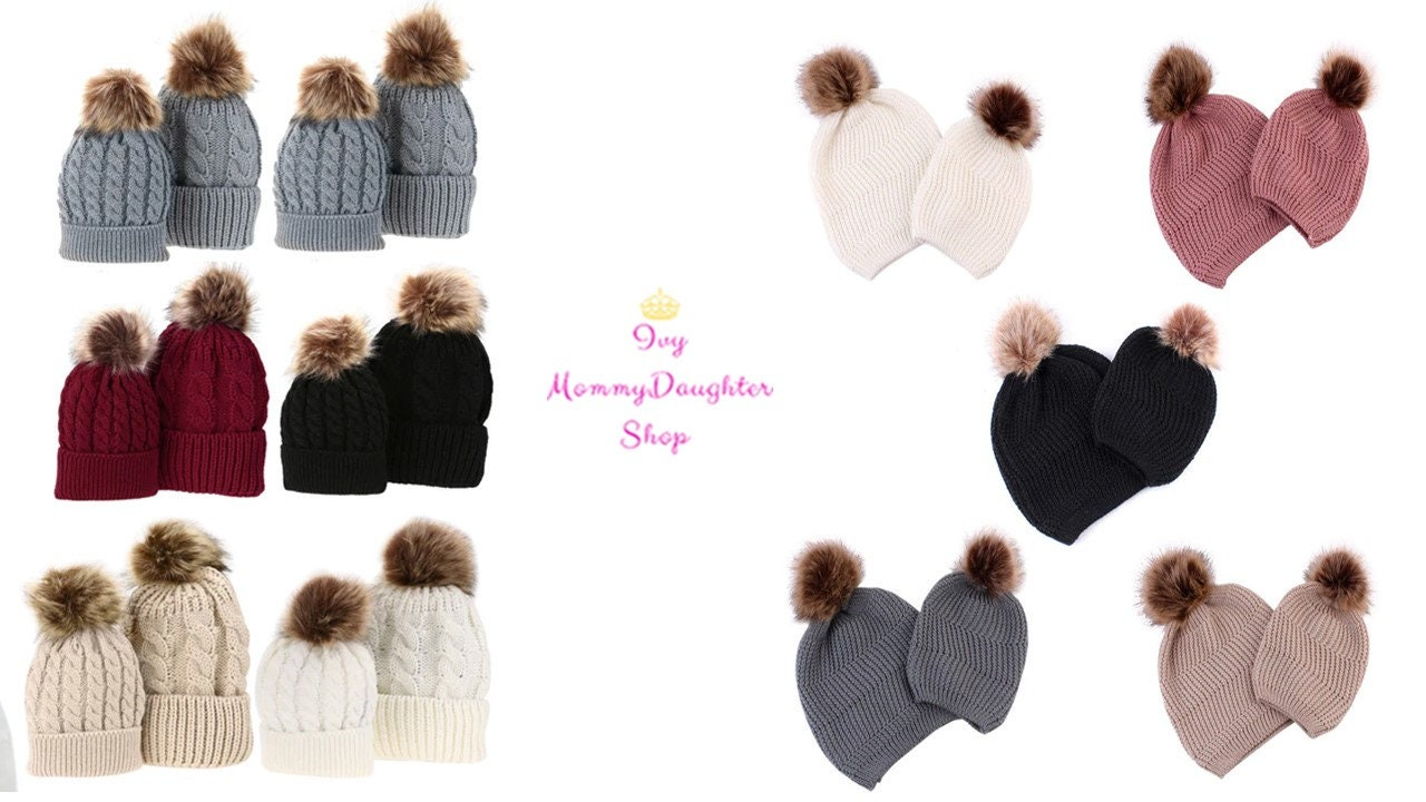 8637584d7d6d2 Matching Mom   Me Unisex (Hat or Beanies)