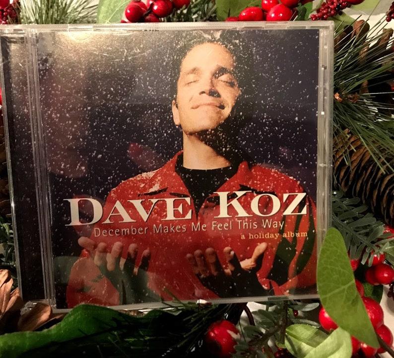 Dave Koz Christmas.Dave Koz December Makes Me Feel This Way Christmas Cd From Capital Records 1995