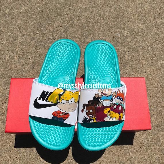 Custom Nike Slides | Etsy
