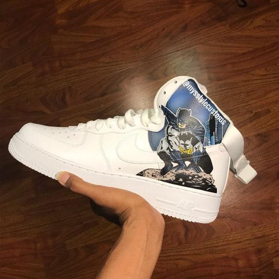Custom Nike Air Force 1 (Slime), Custom Air force 1, Custom Nike, Custom Nikes, Custom Shoes, Custom Sneakers, Nike Custom