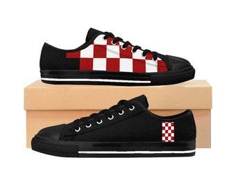5874ef9671fa18 CrKicks Checker 1.0 Midnight Black - Men s Croatian Shoes
