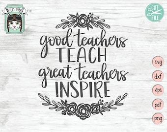 Teachers quote   Etsy
