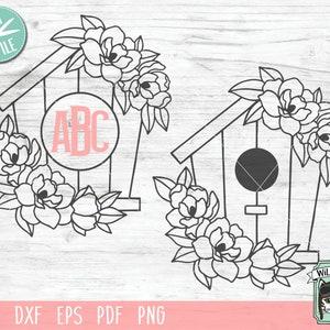 Floral Birdhouse Plastic Canvas Pattern Birdhouse Basket Vintage Birdhouse Card Holder Home Decor