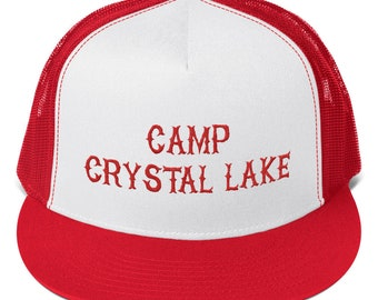 9335656ce17 Camp Crystal Lake - Friday the 13th Trucker Cap