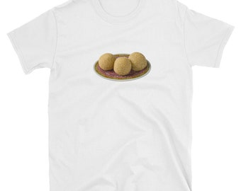 Sesame Balls Chinese Food T-Shirt, Dim Sum, Dimsum, Hong Kong, Cantonese, Asian, Chopsticks, Foodie Gift For Him, Gift For Her, Graphic Tee