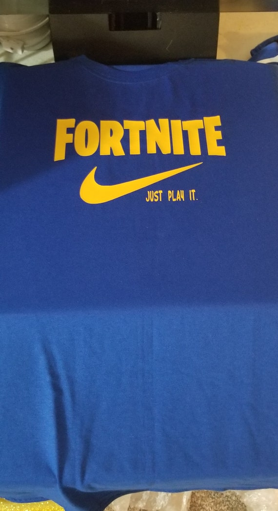 024fee98f Fortnite Inspired Shirt Fortnite Tee Nike Youth | Etsy