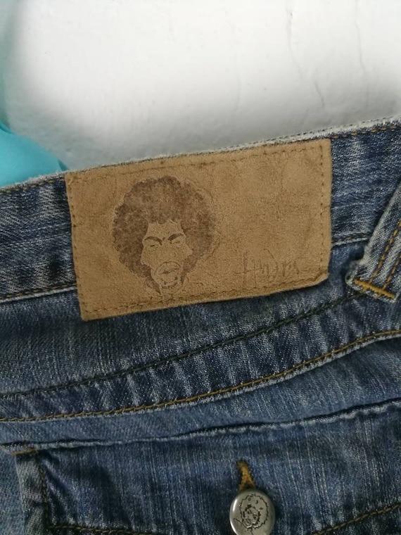 Vintage Jeans Jimi Hendrix x Basic House Woodstock Music And Art Fair