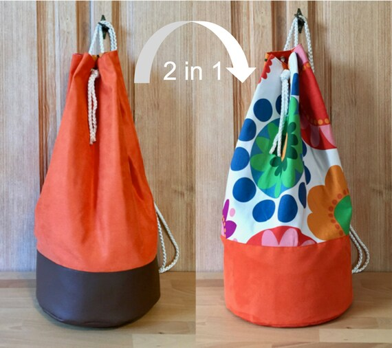 14c0f2fa3acc 2in1 Duffel Bag Large Duffle bag-fredrika orange-backpack for