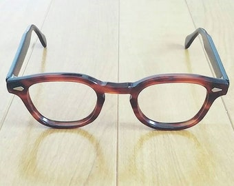e8c9e12a27 Tart Optical Vintage Eyeglass Frames ARNEL 1950 s   60 s Johnny Depp James  Dean